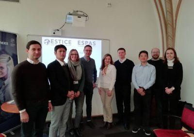 Rencontre des professeurs internationaux