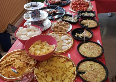 International lunch